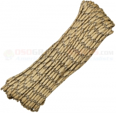 Desert Camo 550 Paracord 100 ft. Hank (Type III Mil Spec 7 Strand Parachute Cord) Made in USA RG115H