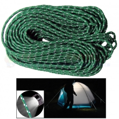 Nite Ize Relective Cord Green (2.4 mm 50 ft. High-Strength Woven Nylon) LM353745