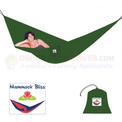 Hammock Bliss Single Hammock, Forest Green