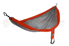 Eagles Nest Outfitters ENO Singlenest Hammock, Orange/Grey
