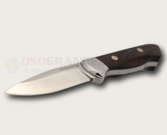 Lamoureux & Sons Matapedia Hunting Knife S30V Blade Ebony Handle