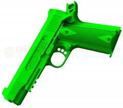 Cold Steel 1911 Colt Rubber Training Pistol Cocked and Locked (Lime Green) Super Tough Polypropylene Construction 92RGC11C