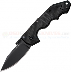 Cold Steel Mini AK-47 Folding Knife (2.75 Inch CTS-XHP Plain Black DLC Blade) G10 Handles 58TMCAK