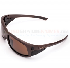 Cold Steel Battle Shades Sunglasses Mark I MATTE Dark Brown