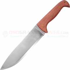 Condor Tool & Knife Moonshiner Knife (Fixed 9 Inch Carbon Steel Blade) Hardwood Handle CTK235-9HC