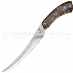 Buck 541 Open Season Boning Knife Fixed Blade (6.5 Inch S30V Blade) Rosewood Dymondwood Handles 541RWS