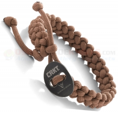 Columbia River CRKT Jason Scarvalas Quick Release Paracord Bracelet Tan 9350TS (Small)