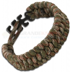Columbia River CRKT Tom Stokes Adjustable Paracord Bracelet Camo 9400C