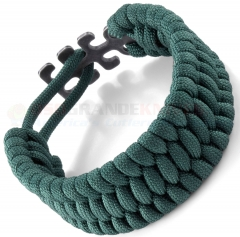 Columbia River CRKT Tom Stokes Adjustable Paracord Bracelet Green 9400G
