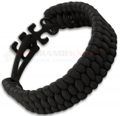 Columbia River CRKT Tom Stokes Adjustable Paracord Bracelet Black 9400K