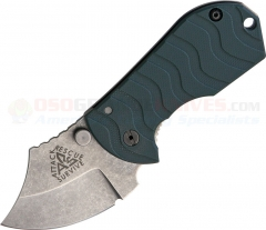 ARS Knives Flip Shank Frame Lock Folding Knife (2 Inch 154CM Stonewashed Blade) Foliage Green G10 Handle ARS09FG