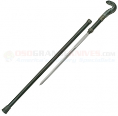 Cobra Walking Cane Sword (35 Inches Overall) Aluminum Shaft CN926870