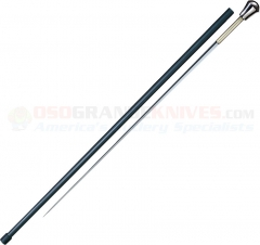 Cold Steel Aluminum Head Sword Cane (37.62 Inches Overall) Carbon Fiber Shaft 88SCFA