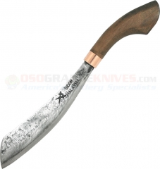 MY Parang Duku Chandong Heavy Machete (12 Inch Carbon Steel Blade) Wood Handle MYPCDGT12