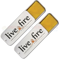 Live Fire Gear Live Fire Original Emergency Fire Starter (Twin Pack)