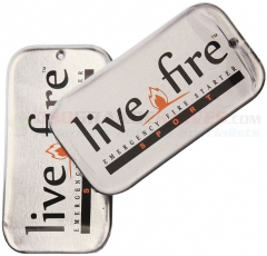 Live Fire Gear Live Fire Sport Duo Emergency Fire Starter (2 Pack)