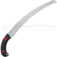 Silky Saws Zubat Professional Hand Saw (13 Inch 330mm Curved Blade Large Teeth) Black Polypropylene Sheath 270-33