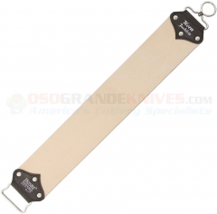Herold Solingen Hanging Double-Sided Leather Razor Strop (18.89 x 3.14 Inches Overall Size) HS180J