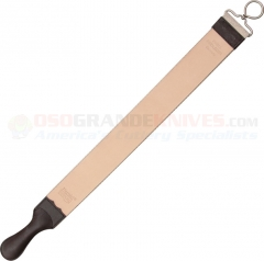 Herold Solingen Hanging Razor Strop (24.50 Inches Overall) Leather on One Side and Synthetic on Back HS183RI
