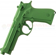 Cold Steel Beretta Model 92 Training Pistol (Lime Green Polypropylene Construction) 92RGB92Z