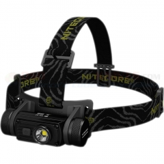 NITECORE HC60 1000 Lumen Rechargeable LED Headlamp (USB Rechargeable 18650 Battery)