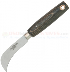 Ontario Old Hickory Grape Hook Field Knife Fixed (3.0 Inch Hawkbill High Carbon Steel Satin Plain Blade) Hardwood Handle 5180