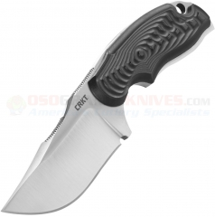 4843b7a5ff Columbia River CRKT Flavio Ikoma Civet Neck Knife Fixed (2.417 Inch Clip  Point Satin Plain