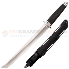 Cold Steel San Mai Magnum Tanto XII Fixed (12.0 Inch San Mai Satin Plain Blade) Kray-Ex Handle + Secure-Ex Sheath 35AE