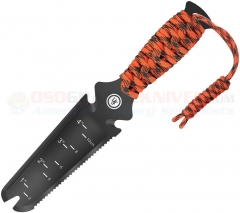 UST Ultimate Survival ParaShovel Pro Multi-Tool Shovel (ParaTinder + Fire Starter + Whistle) Black Nylon Sheath WG12424