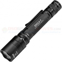 SureFire EDCL2-T Everyday Carry 2 Dual-Output LED Flashlight (1200 Max Lumens) Black Aluminum Body SFREDCL2T