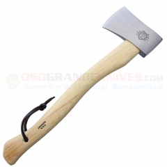 Prandi 19.75 Inch Yankee Hatchet (6.00 Inch Classic Satin Finished Carbon Steel Head) American Hickory Handle PRA43092C