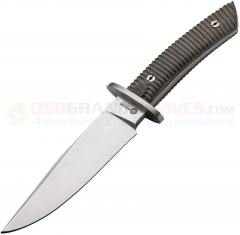 "TOPS BRAK-01-RMT Brakimo 5 1//4/"" Carbon Steel Fixed Blade w//Green Handle"