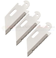 Cold Steel Click-N-Cut Serrated Wharncliffe Replacement Blades (3 Pack) 40AP3C