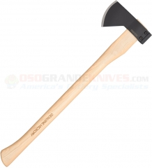 Cold Steel Hudson Bay Camp Axe (Drop Forged 1055HC Head) 27 Inch American Hickory Handle 90QB