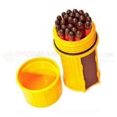 UCO Stormproof Match Kit (Waterproof Container + 25 Waterproof Windproof Matches + 3 Strikers) UCO00031