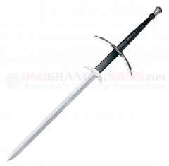 Cold Steel Two Handed Great Sword (39.87 Inch 1055 High Carbon Steel Blade) Leather Wrapped Handle 88WGS
