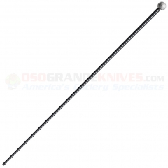 Cold Steel 91WS Slim Stick Walking Stick Cane (39 Inches Overall Length) Aluminum Head Carbon Fiber Shaft
