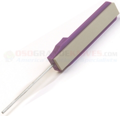 GATCO Extra Fine Sharpening Hone (600 Grit) Purple Handle 15006