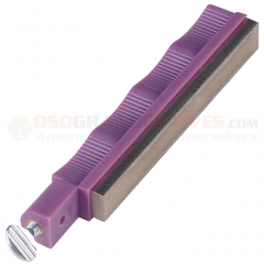 Lansky Coarse Diamond Sharpening Hone (Purple Holder) LDHCR LS9