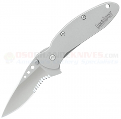 Kershaw 1620FLST Scallion Frame Lock, ComboEdge