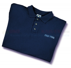 Cold Steel TPB1 Navy Blue Polo Shirt M