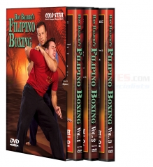 Cold Steel Ron Balicki's Filipino Boxing Training DVD's VDFB