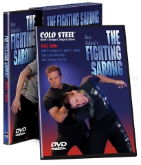 Cold Steel The Fighting Sarong Two Disc DVD Set (by Ron Balicki) VDFS