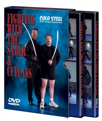 Cold Steel Fighting with the Saber and Cutlass Training Instructional Two Disc DVD Set VDFSC