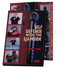 Cold Steel Self Defense with the Sjambok Training Instructional DVD Set VDFSK