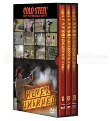 Cold Steel Never Unarmed DVD Six Disc Set VDNU