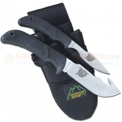 Outdoor Edge Kodi-Combo Hunting Knife Set (Kodi-Skinner and Kodi-Caper) Nylon Sheath OEKO1N