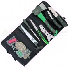 Outdoor Edge Outpak Big Game Hunting Set (Complete Hunting Tool Set) Nylon Roll Case OEOT1