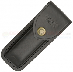 Buck 0110-05-BK Black Leather Sheath Only for Buck 110 Folding Hunter