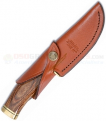 Buck Knives 191S Brown Leather Belt Sheath for Buck Knives Zipper/Vanguard Knife 0191-05-BR